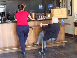 Leal Handicapped Wine Tasting Bar