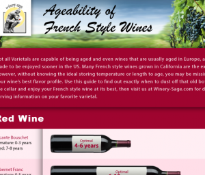 Red Wine Ageability Imae