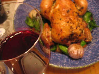 Chicken and wine pairing recipes