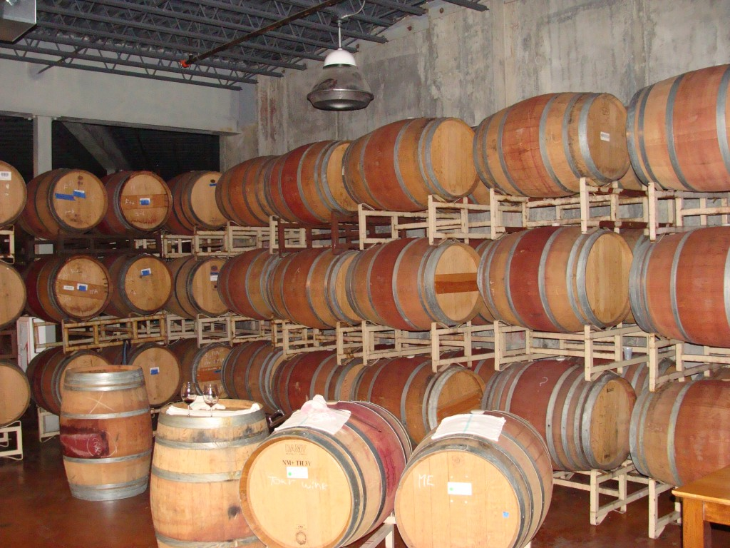 Monte De Oro Barrel Room