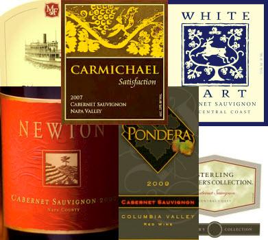 Wine Label Collage