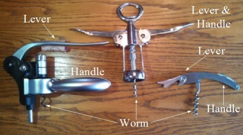 Different Types of Corkscrews