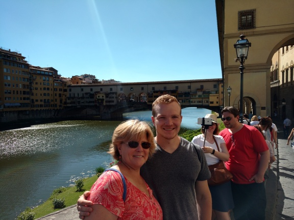 Karen and Danny in Florence