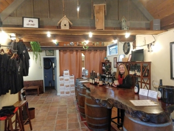 Wine Tastign Room - Wargin Wines in Soquel