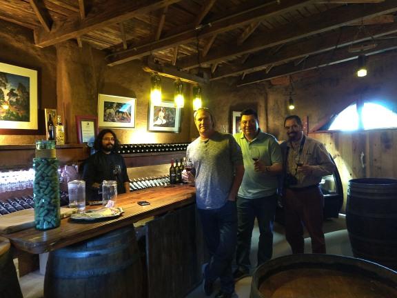 The Tasting Room at Sol y Barro