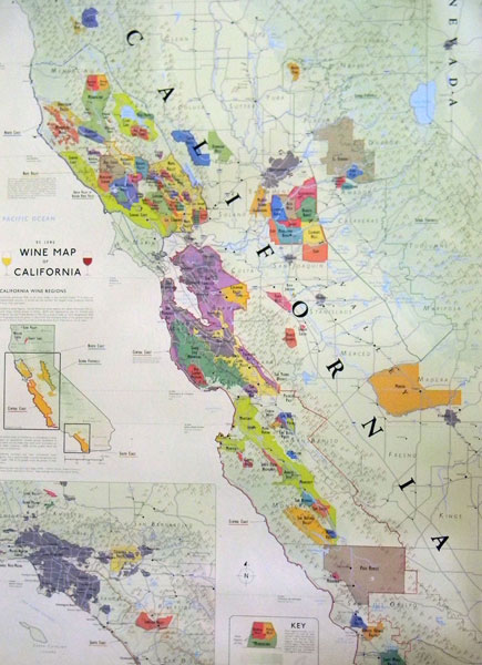 a comprehensive listing of wine avas  appellations
