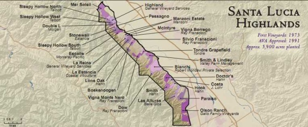 Wine Artisans of Santa Lucia Highlands Experience our mountain home